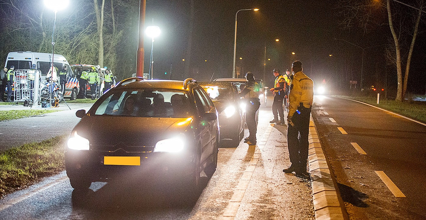 Grote alcoholcontrole