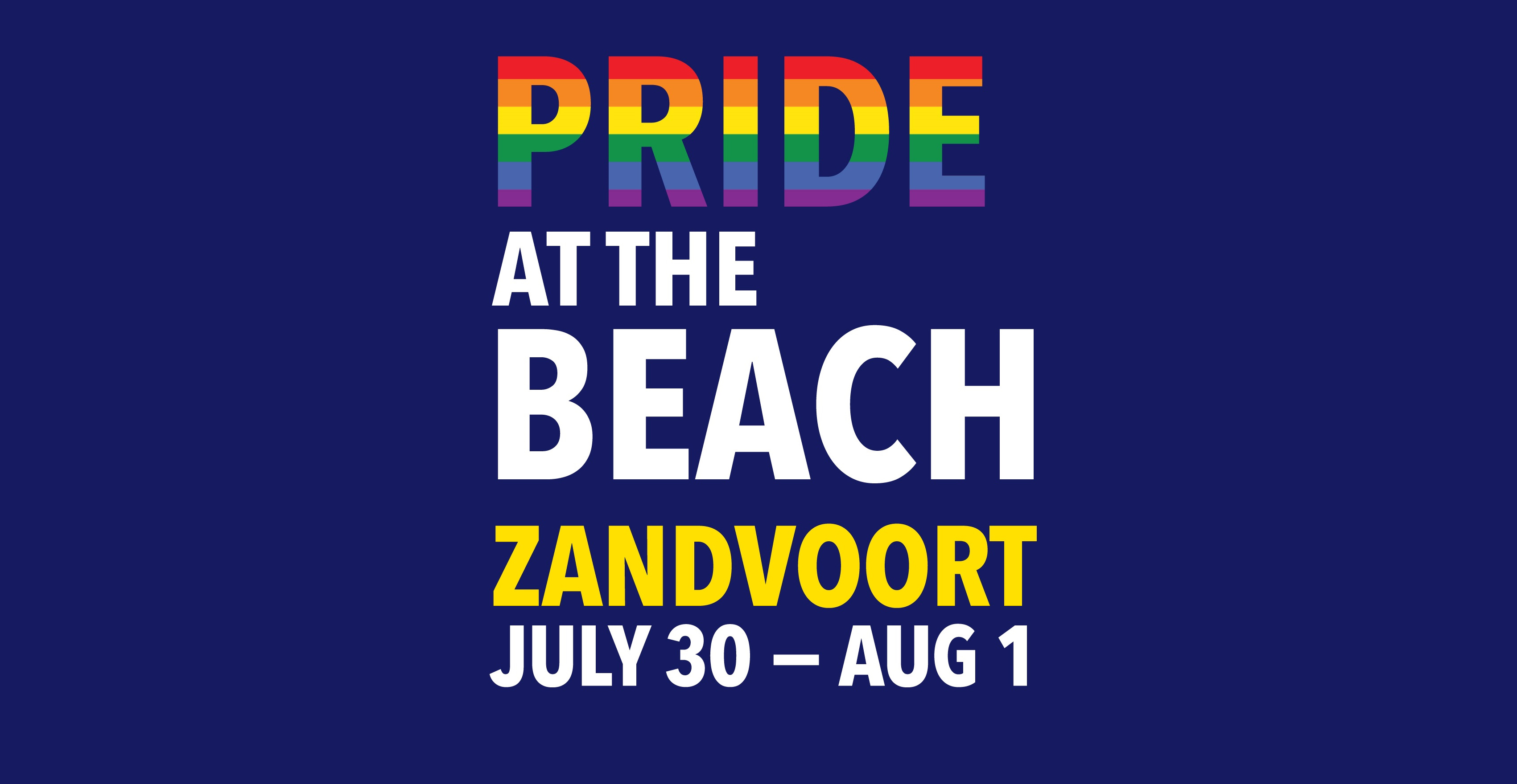 Pride at the Beach 2018